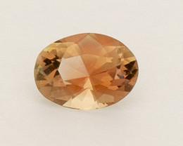 0.95ct Peach Oval Oregon Sunstone (S2557)