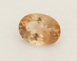 1ct Peach Oval Oregon Sunstone (S2560)