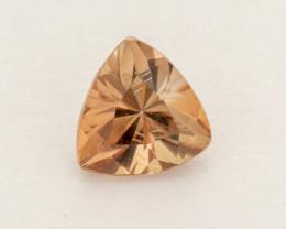0.2ct Peach Trilliant Oregon Sunstone (S2563)