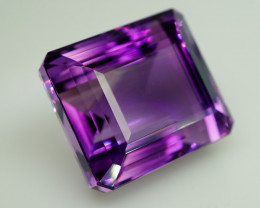 48.60 ct. Natural Top Nice Purple Amethyst Unheated Brazil - IGE Сertified