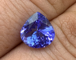 3.42 ct Tanzanite - Merelani Hills, TZ - Loupe Clean Clarity