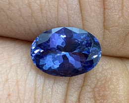 3.14 ct Tanzanite - Merelani Hills, TZ - Loupe Clean Clarity
