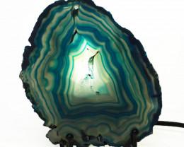 0.25 Kilo Agate crystal lamp Specimen CF 754