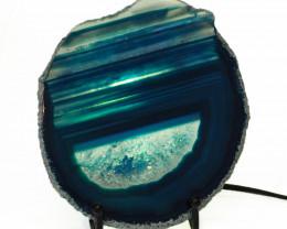 0.30 Kilo Agate crystal lamp Specimen CF 755