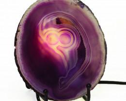 0.25 Kilo Agate crystal lamp Specimen CF 764