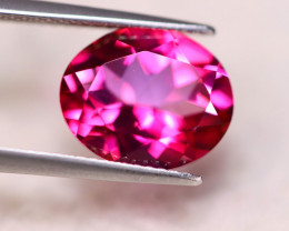5.71ct Natural Pink Topaz Oval Cut Lot S144