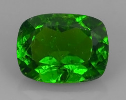 2.10 CTS NATURAL ULTRA RARE CHROME GREEN DIOPSIDE  RUSSIA NR!!