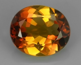PRIVATE AUCTION 5.80 CTS SUPERIOR! CHAMPION TOPAZ GENUINE OVAL EXCELLNT NR!