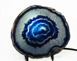 0.25 Kilo Agate crystal lamp Specimen CF 771
