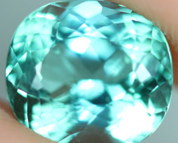 3.13 CT CERTIFIED  Copper Bearing Mozambique Paraiba Tourmaline-PR763