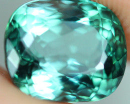 3.03 CT CERTIFIED  Copper Bearing Mozambique Paraiba Tourmaline-PR764