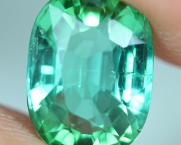 3.60 CT CERTIFIED  Copper Bearing Mozambique Paraiba Tourmaline-PR744