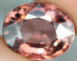 4.38 CT Excellent Cut Natural Mozambique Tourmaline - PTM17