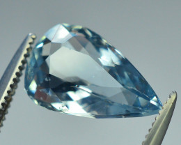 Top Grade 1.95 ct Attractive Color Aquamarine