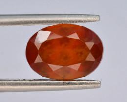 Top Color 3.00 ct Natural Hessonite Garnet ~ T