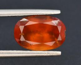Top Color 2.85 ct Natural Hessonite Garnet ~ T
