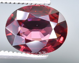 2.33 Crt Rhodolite Garnet  Faceted Gemstone (Rk-11)