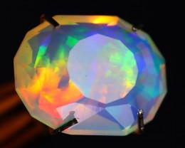 Rainbow Aurora 1.83Ct Master Piece of Designer Cut Welo Opal C0101
