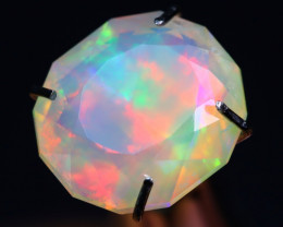 Metallic Broadflash 1.95Ct Master Piece of Designer Cut Welo Opal C0102