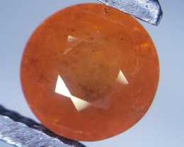Spessartite, 1.52ct, brilliant cut, nice colour !