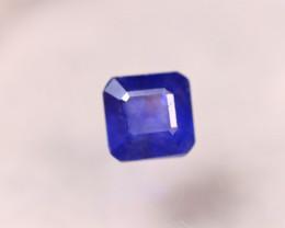 3.49ct Ceylon Blue Sapphire Square Cut Lot P349