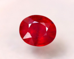 8.83ct Blood Red Color Ruby Oval Cut Lot GW7266