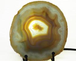 0.20 Kilo Amazing Pattern Agate Crystal lamp Specimen CF 782