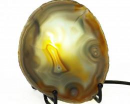 0.20 Kilo Agate crystal lamp Specimen CF 784