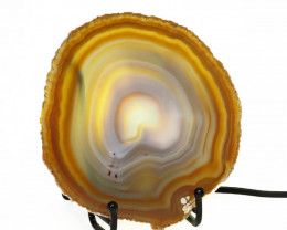 0.30 Kilo Agate crystal lamp Specimen CF 789