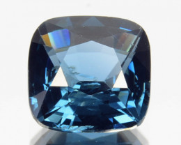 1.00 Cts Natural Cobalt Blue Spinel Cushion Cut Sri Lanka