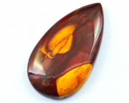 Genuine 50.00 Cts  Mookaite Pear Shape Cabochon