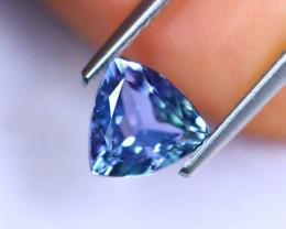 1.27cts Natural Violet Blue D Block Tanzanite / RD1016