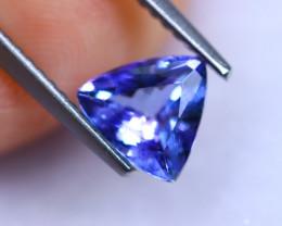 1.16cts Natural Violet Blue D Block Tanzanite / RD1020