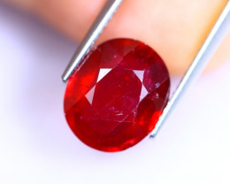 6.95cts Blood Red Colour Ruby / RD1034