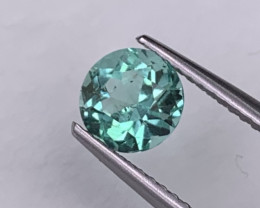Colombian Natural Emerald Crystal Quality Amazing Color 0.96Cts 6mm Round