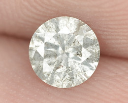 0.30 Cts Untreated Natural Fancy Grayish White Color Loose Diamond