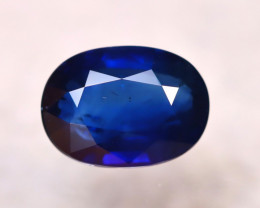 Certified Sapphire 2.97Ct Natural Blue Sapphire DR109