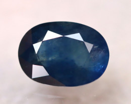 Certified Sapphire 3.06Ct Natural Blue Sapphire DR110