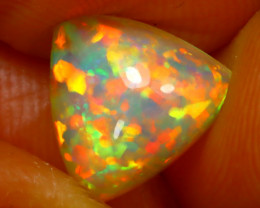 Welo Opal 1.95Ct Natural Ethiopian Play of Color Opal DR117