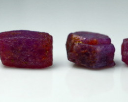 48.40 Ct Unheated ~ Natural Ruby Rough Lot