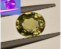 AIG ~ 0.59 Cts Alexandrite Chrysoberyl