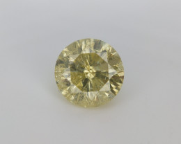 0.60 Diamond for Jewelry , Natural Yellow Diamonds
