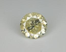 0.70 Round Real Diamond , Color Diamond .