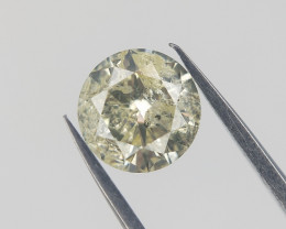 0.47 Carat , Rare Natural Diamond , Light color Diamond