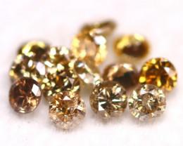 Champagne Diamond 0.74Ct 2.3mm Natural Untreated Champagne Diamond A0203