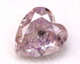 Pink Diamond 0.24Ct Natural Untreated Fancy Pink Diamond A1408