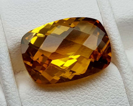 6Crt Madeira Citrine Natural Gemstones JI107
