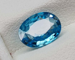1.55Crt Natural Blue Zircon   Gemstones JI107