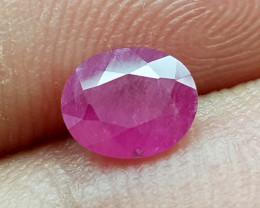0.95Crt Ruby Natural Gemstones JI107