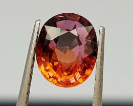 1.09Crt Tourmaline Natural Gemstones JI107